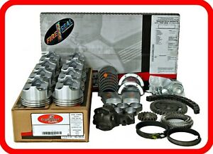 Engine Rebuild Overhaul Kit Fits 74 76 Ford Fe 360 5 8l V8 W Flat top Pistons