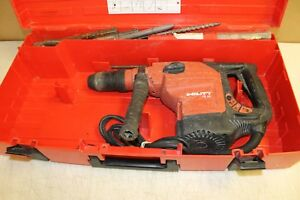Hilti Te56 Rotary Hammer Drill With Bits 34499