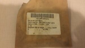 Cornell Dubilier M39014 02 1321 Fixed Multi layer Ceramic Capacitor Tech Repair