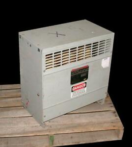 Federal Pacific Reliance Fh15cemd 3 phase Dry Type Transformer 15 Kva