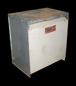 Ge General Electric 9t48y2035 3 phase Dry Type Transformer 75 Kva