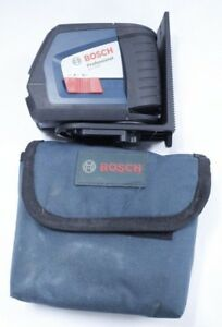 ma2 Bosch Professional Gll2 45 Cross line Laser Level Used