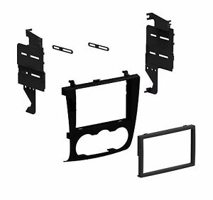 Aftermarket Radio Stereo Double Din Dash Installation Kit Mount Bezel Panel Trim