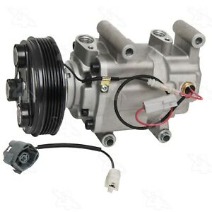 For Mazda 3 2006 2008 New A c Compressor With Clutch Four Seasons 98472