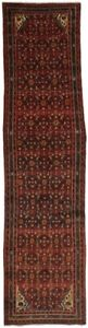 Oversized Hossainabad Runner Persian Oriental Area Rug Carpet Wool Sale 3 6x14