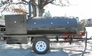 Pull Behind Bbq Smoker 12 5 Commercial Grade Smoker Grill