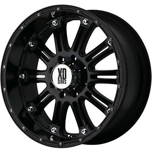 18x9 Black Xd Xd795 Hoss 6x5 5 18 Wheels Nitto Trail Grappler Lt285 65r18