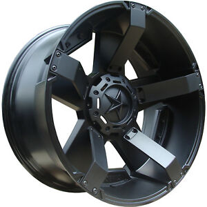 18x9 Black Xd Xd811 Rockstar Ii 5x5 0 Rims Nitto Trail Grappler 285 65 18 Tires