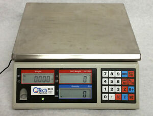 Qtech Qcs 15 Digital Counting Scale Stainless Steel Platform 15 Lbs Capacity