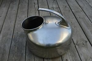 Vintage Stainless Steel The Surge Milker Cow Goat Dairy Babson Bros Co