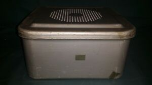 Aesculap Jn342 Half Size Sterilization Container Case Medical Surgical Dental Or