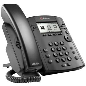 Polycom Vvx 301 6 Line Voip Display Phone Black 2200 48300 025