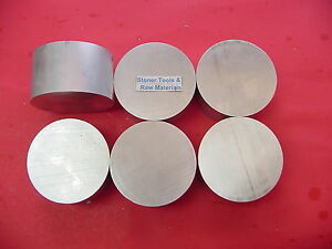 6 Pieces 4 Aluminum 6061 Round Bar Rod 1 5 Long T6511 Solid Lathe Bar Stock