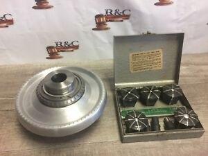 Nice Jacobs Rubber Flex Collet Chuck W Lo Mount Collets 1 8 5 8