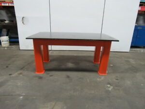 Hd Steel Fabrication Welding Layout Table Work Bench 72 x40 x33 1 Thick Top