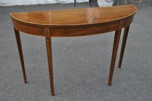 Kittinger Mahogany Hall Table