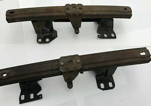 1966 70 Gm B body Power Seat Bench Seat Tracks Used Pair
