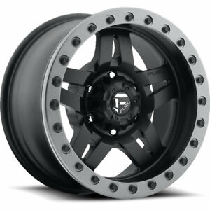 18x9 Black Fuel Anza D557 5x150 20 Rims Nitto Trail Grappler 285 65 18 Tires