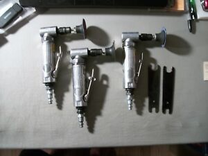 Lot Of 3 Pneumatic Right Angle Die Grinder Air Tool 1 Florida 2 Work Smart