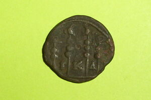 Gordian Iii 238 Ad Ancient Roman Coin Legionary Eagles Military Standards Vg Old