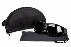 New Safety Welding Glasses Shade 12 Case Microfiber Bag Included