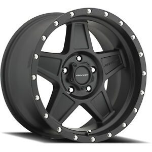 18x9 Black Pro Comp Series 35 35 6x5 5 0 Wheels Nitto Trail Grappler 285 65 18