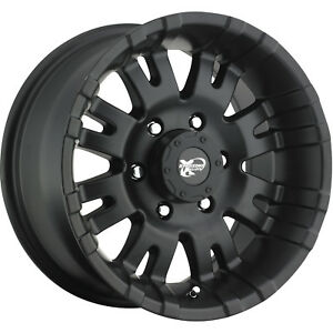 18x9 5 Black Pro Comp Series 01 1 6x5 5 0 Wheels Nitto Trail Grappler 285 65 18