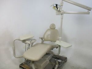 Adec 8000 Dental Patient Exam Chair W Delivery System Light