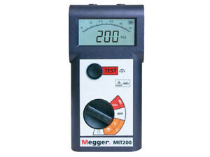 New Megger Mit200 en 500v Digital analog Insulation And Continuity Tester