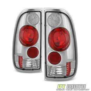 1997 2003 Ford F150 99 07 F250 F350 Superduty Styleside Tail Lights Left right