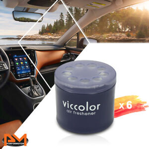 X6 Viccolor Car bathroom Air Freshener Lasting Light Squash Scent Fragrance 85g