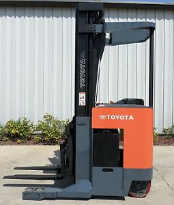 Toyota Model 6bru18 1999 3500lbs Capacity Great Reach Electric Forklift
