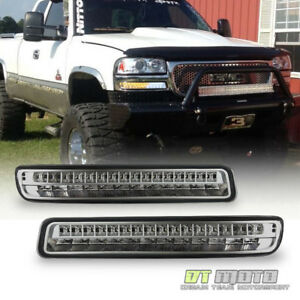 1999 2006 Gmc Sierra 1500 Yukon Led Amber Signal White Drl Parking Bumper Lights