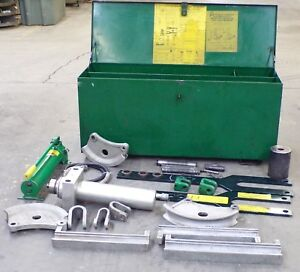 Greenlee Hydraulic Power Bender Emt 885te 50 X 17 1 2 X 22