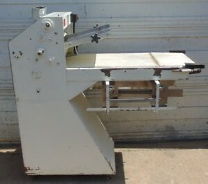 Acme Model 8 Dough Roller Floor Roll sheeter Machine Double Pass Bakery Conveyor
