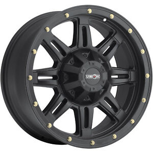 18x9 Black Vision Incline 400 8x6 5 18 Rims Nitto Trail Grappler Lt285 65r18