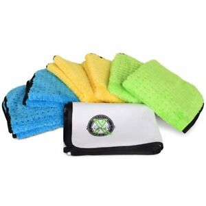 Liquid X Xtreme Microfiber Towel Bundle 7 Piece Kit