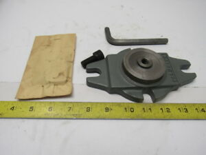 Palmgren Model 25m Vintage Nos Swivel Vise Base For 0 00 000 Bench Vise