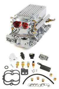 Holley Efi 550 708 Small Block Chevy Polished Stealth Ram Multi port Power Pa