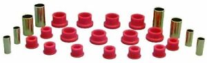 Prothane 14 301 Red Rear Control Arm Bushing Kit