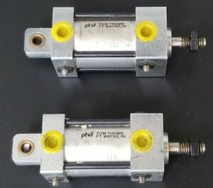 Lot Of 2 New Phd Inc 1 1 2 Bore 1 Stroke Pneumatic Cylinder