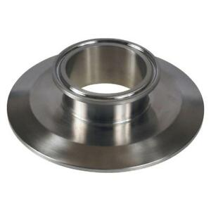 End Cap Reducer Tri Clamp clover 4 Inch X 2 Sanitary Ss304 3 Pack