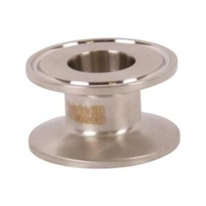 End Cap Reducer Tri Clamp clover 1 5 1 1 2 Inch X 1 Sanitary 3 Pack