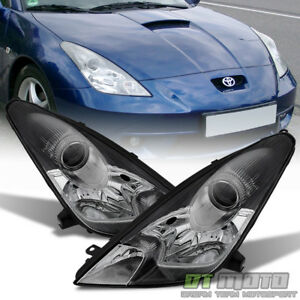 For 2000 2005 Toyota Celica factory Style Projector Headlights Headlamp Lights