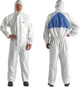 3m 4540 xxl Protective Coveralls Full Case Of 20 Suite Fast Ship