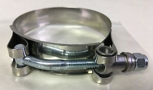 Mishimoto Stainless Steel T Bolt Coupler Clamp 3 Mmclamp