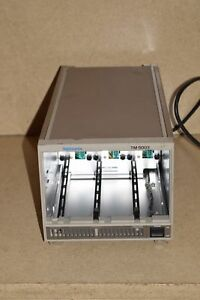 Textronix Tm5003 3 slot Power Mainframe Chassis