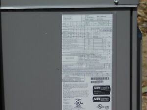 Carrier 2 1 2 Ton Gas Heat Package Unit Model 48vl c300603 cp New