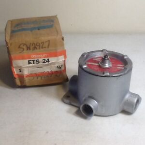 Crouse Hinds Ets 24 Hazardous Location 3 4 Condulet 20 Amp Switch Explosion Pro