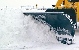Snow Plow For Skid Steer Loader 72 Manual Angle mfg By Bradco fits All Brands